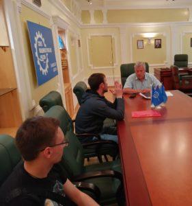 В Тамбовском региональном отделении СоюзМаш прошла очередная встреча с участниками форума «Инженеры будущего-2019»