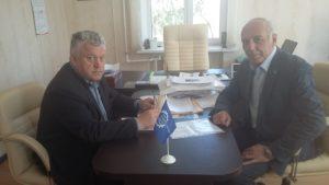 Состоялась рабочая встреча руководителя Тамбовского отделения СоюзМаш и генерального директора ООО «Инновация»