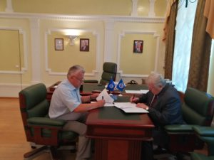 Тамбовское региональное отделение ООО «СоюзМаш России» и Ассоциация СРО и «Тамбовские строители» подписали соглашение о сотрудничестве