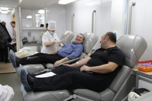 270 сотрудников промышленных предприятий Тамбовской области стали добровольными донорами