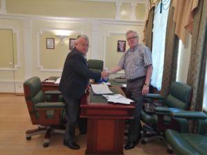 Соглашение о сотрудничестве заключено между региональными отделениями Союза машиностроителей России и Российской инженерной академии