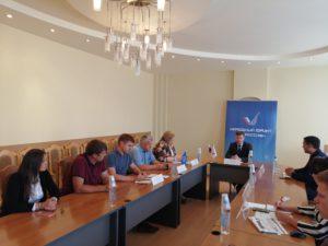 Круглый стол, посвященный ранней профориентации молодежи, прошел в ОНФ с участием представителей СоюзМаш