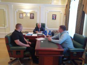 Состоялась встреча руководителя Тамбовского РО ООО «СоюзМаш России» с представителями компании «ТамбовТехСнаб»