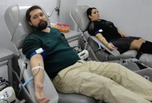 Доноры завода «Электроприбор» приняли участие в корпоративной акции по сдаче крови