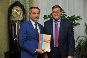 Ректор ТГТУ награжден Почетной грамотой администрации Тамбовской области